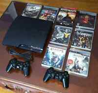 ☆SONY PS3 WITH GAMES AND CONTROLLERS!!☆