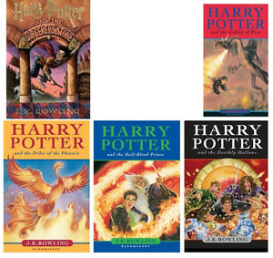 Harry Potter Hardcovers