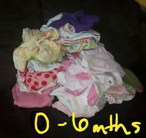 Little girl 0-6 month clothing