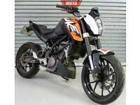 SOLD 12 KTM DUKE 125 PROJECT TRADE SALE SPARES OR REPAIR LEARNER LEGAL ORANGE