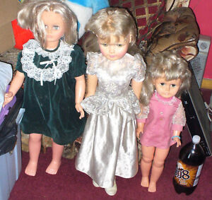 regal  and other 60's /70's canada mayed .walking dolls 7 in all