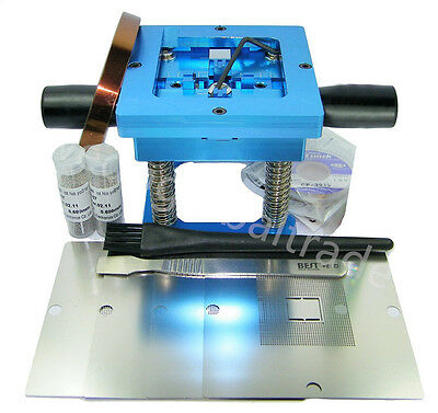 90mm Bga Reball Station For Ps3 Gpu Cpu Cxr714120 Stencil Rework Repair Kits