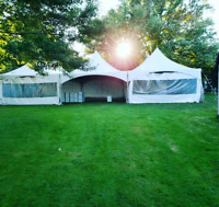 Festival and Wedding Tent Rentals - Chair, Table, Linen Rentals