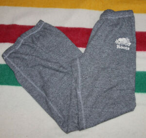 ROOTS SWEATPANTS GREY SPECKLE SIZE ADULT XXS