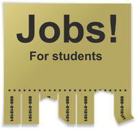 Part-Time/Full-Time Student Work Opportunities