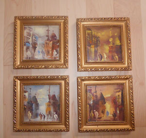 4 Small pictures from Egyptian Gallery $ 20 EACH