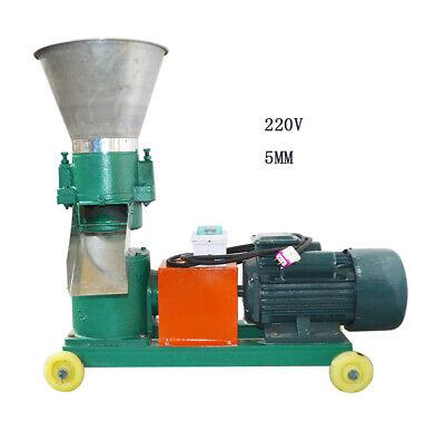 Techtongda Chicken Feed Pellet Mill Machine 220v 5mm Green Driven By Gears