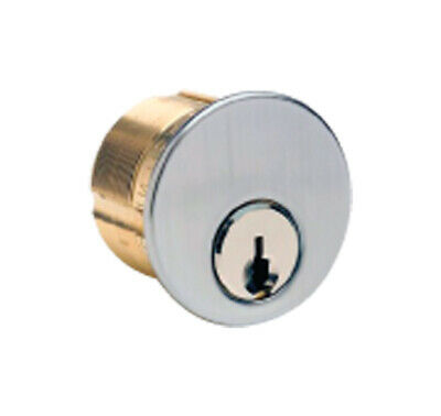 Kaba Ilco Kw9 Brass Mortise Cylinder Keyed Differently