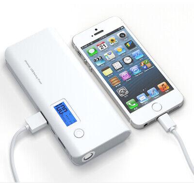 Universal Power Bank (50000mAh 2 USB LCD LED Power Bank Zusatzakku Batterie Ladegeräte für Smartphone)