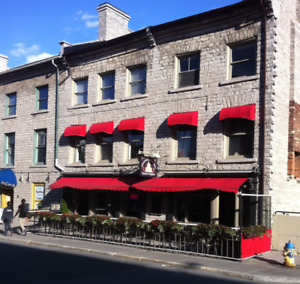 2 BDRM - Ontario St. in Historic Limestone Building - Avail. Now