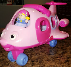 Fisher-Price Little People Lil' Movers Airplane Pink