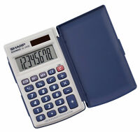 SHARP ELSIMATE EL243S Twin-power Pocket Calculater! Great price!