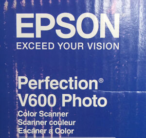 Epson V600 perfection photo scanner