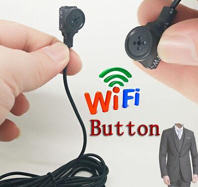 ( WIFI Button Built-in battery wireless IP network mini spy hidden pinhole camera)