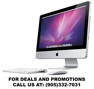 SPECIAL PRICES for an Apple iMac! Call for detail 905-332-7031