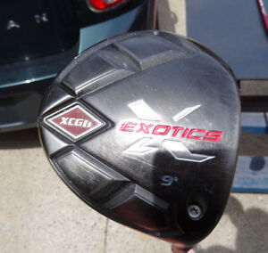 Tour Edge Exotics - Driver, Fairway woods, and hybrids