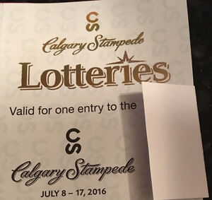 CALGARY STAMPEDE GATE ADMISSION JULY 8-17 2016