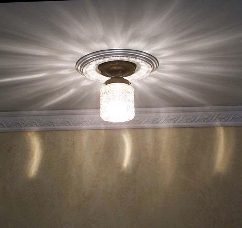 383 Vintage 30s 40s Ceiling Light lamp fixture porch