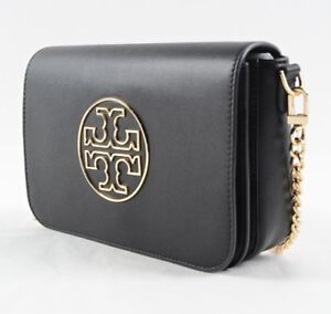 Tory Burch Isabella Leather Clutch