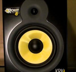 KRK Rokit RP-8 G1 Studio Monitors: Mint Condition
