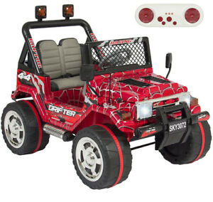 VOITURES ELECTRIQUE RIDE ON CAR  12volts  514-967-4749