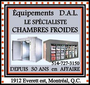 **DE LA CONCEPTION À LA CONSTRUCTION DE CHAMBRES-FROIDES