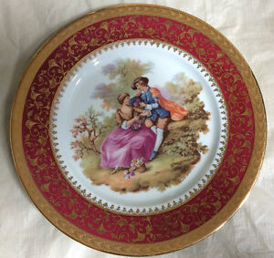 Decorative Fragonard Plate