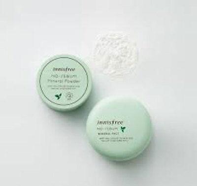 [Innisfree]  No Sebum Mineral Pact 8.5g + No Sebum Mineral Powder 5g Korea