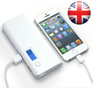 External 50000mAh Power Bank Pack Portable USB Battery Charger For iPhone iPad