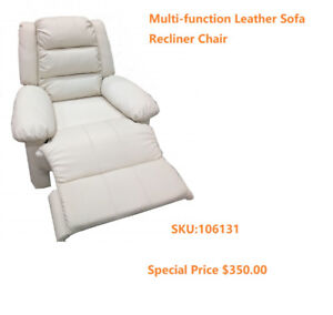 Multi-function Leather Foot Massage Sofa Recliner Chair