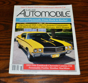 Collectible Automobile magazines - the full set from 1994