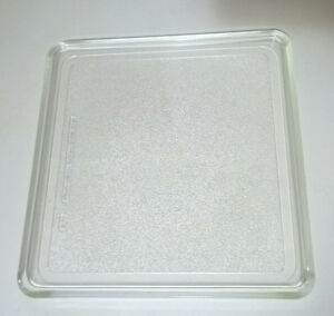Microwave Square Glass Turntable Tray Plate