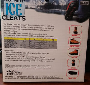 Non-Slip Ice Cleats (Cramp ons)- Non Slip Footwear