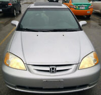 2002 Honda Civic Si Coupe , Low KMS, One Owner