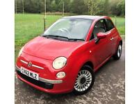 Fiat 500 1.2**Lounge Edition**1Lady Owner From New,FULL FIAT HISTORY!**