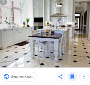 EXPERT TILE AND FLOORS KITCHEN  FOYER BEST QUALITY INSTALLATIONS