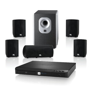 JBL Cinema 300 Complete 5.1 Home Theatre and Music speaker