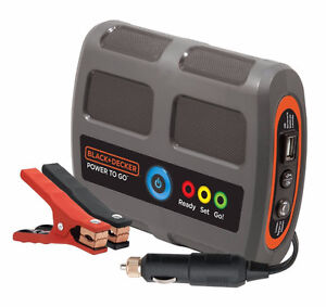 Brand new - Black & Decker Power To Go Lithium Battery Booster