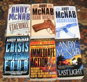 Lot of Andy McNab books $5