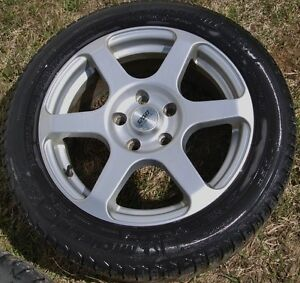 Audi / VW Rims with Snow Tires