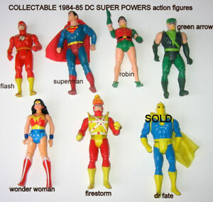 COLLECTABLE 1980S DC SUPER POWER ACTION FIGURES