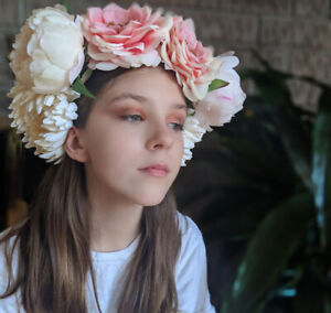Flower Crown  - Day of the Dead or Music Festival