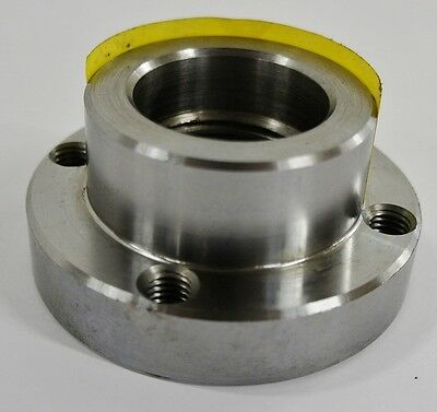 3-14 Lathe Chuck Adapter Plate 1-12 8 Spindle Mount Plain Back Usa