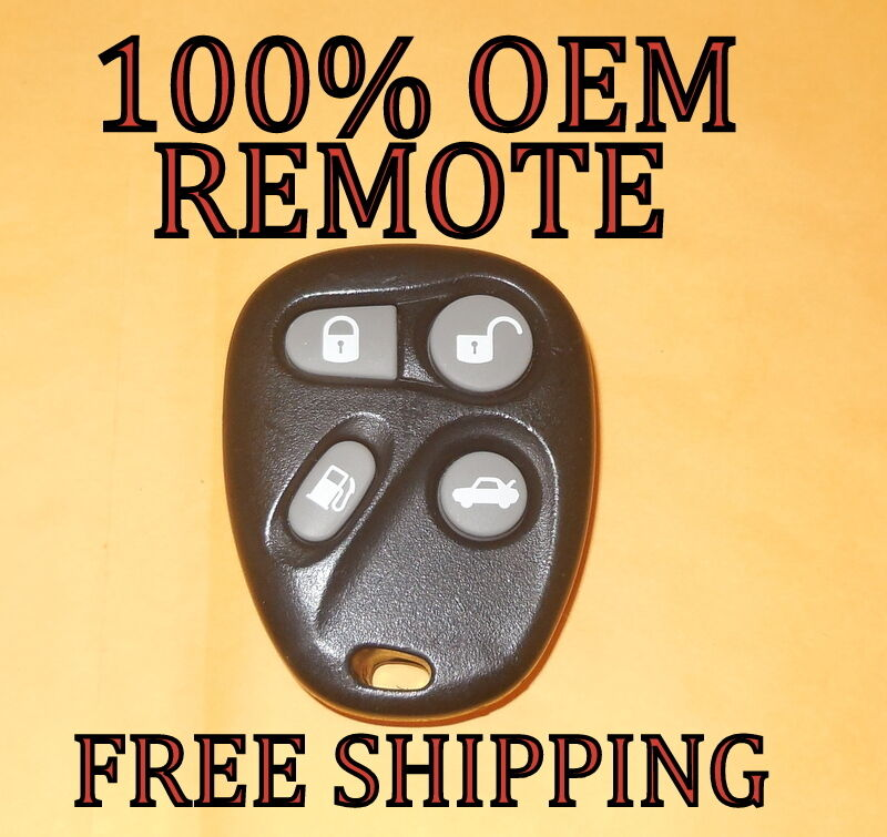100% OEM GM 01-04 CADILLAC DEVILLE SEVILLE KEYLESS ENTRY REMOTE FOB 25695967 #2