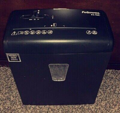Fellowes Powershred H-5c Shredder Black