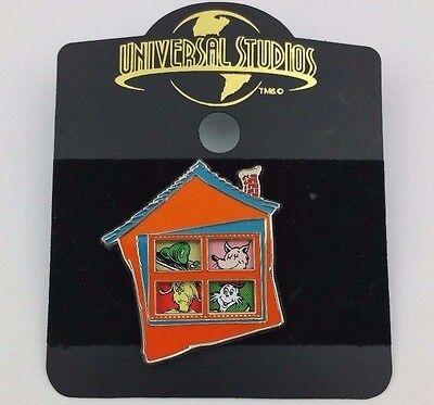 Universal Studios Dr. Seuss Green Eggs & Ham House Sliding Windows Trading Pin