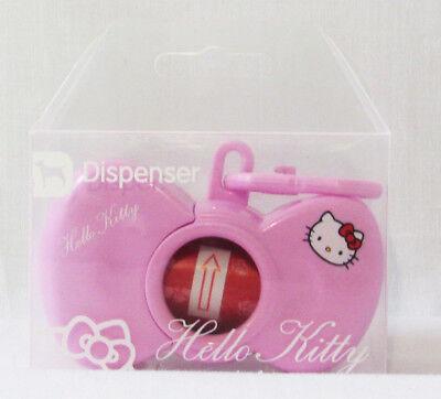 HELLO KITTY Pink Bow Dispenser Dog Pet Puppy Doggie Hygiene Waste Bag Holder New