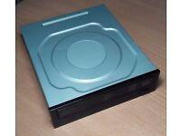 HP CD/DVD Rewritable Internal Drive DH-16ABLH 5.25 SATA MODEL F/W:3HD9 PN:575781-501