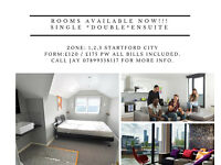 STUNNING DOUBLE ROOMS AVAILABLE