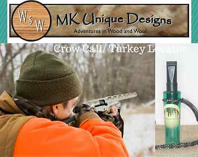 Crow Call By Mk Unique Designs  Green